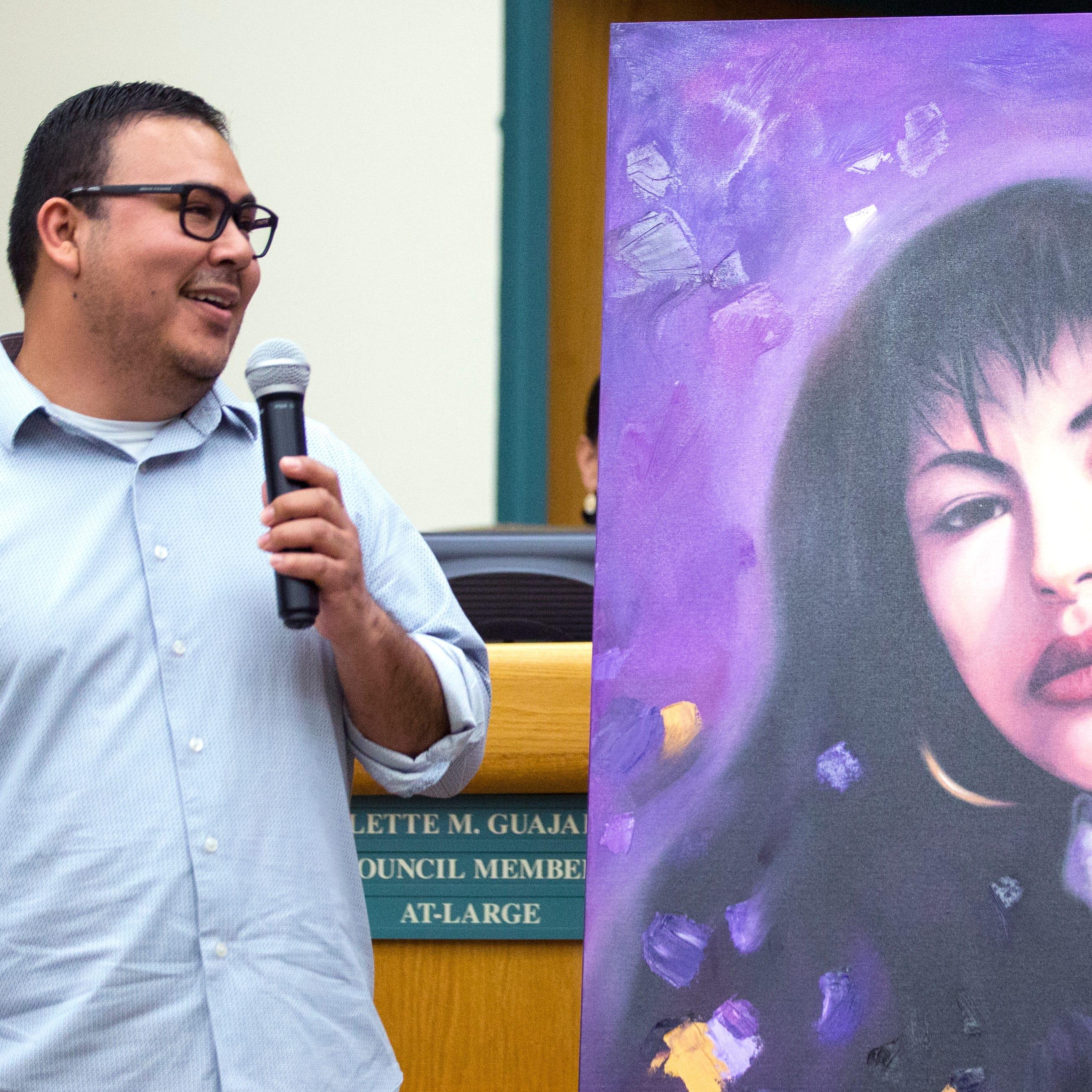 Fiesta de la Flor 2019: Citgo gives Corpus Christi a painting of Selena Quintanilla
