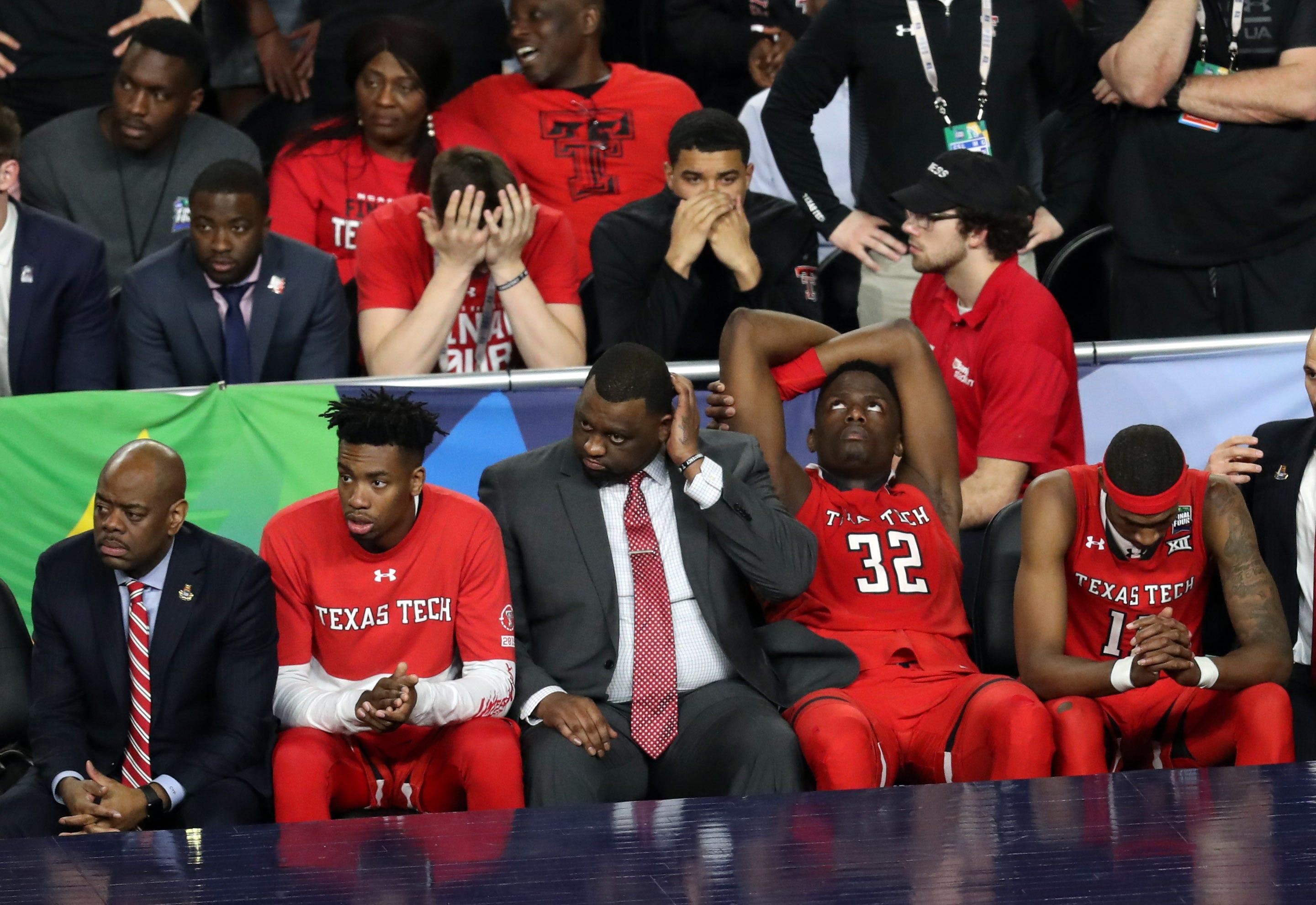 NCAA championship: See Patrick Mahomes' faux Adidas, Texas Tech gear