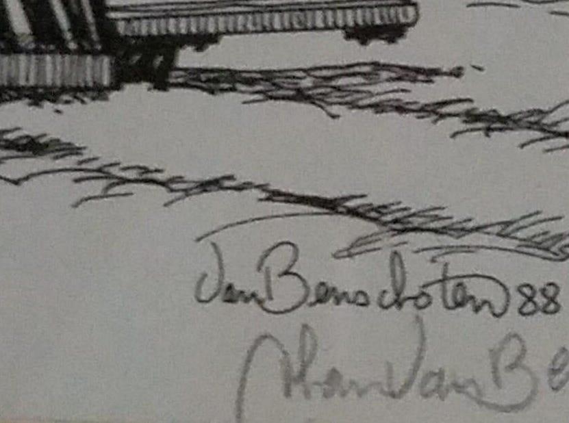 This is Thom Van Benschoten's signature.