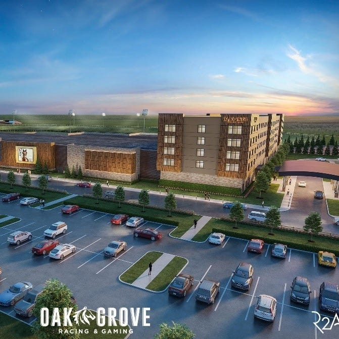 Multimillion-dollar venue promises to bring 'a day at the races' to Oak Grove