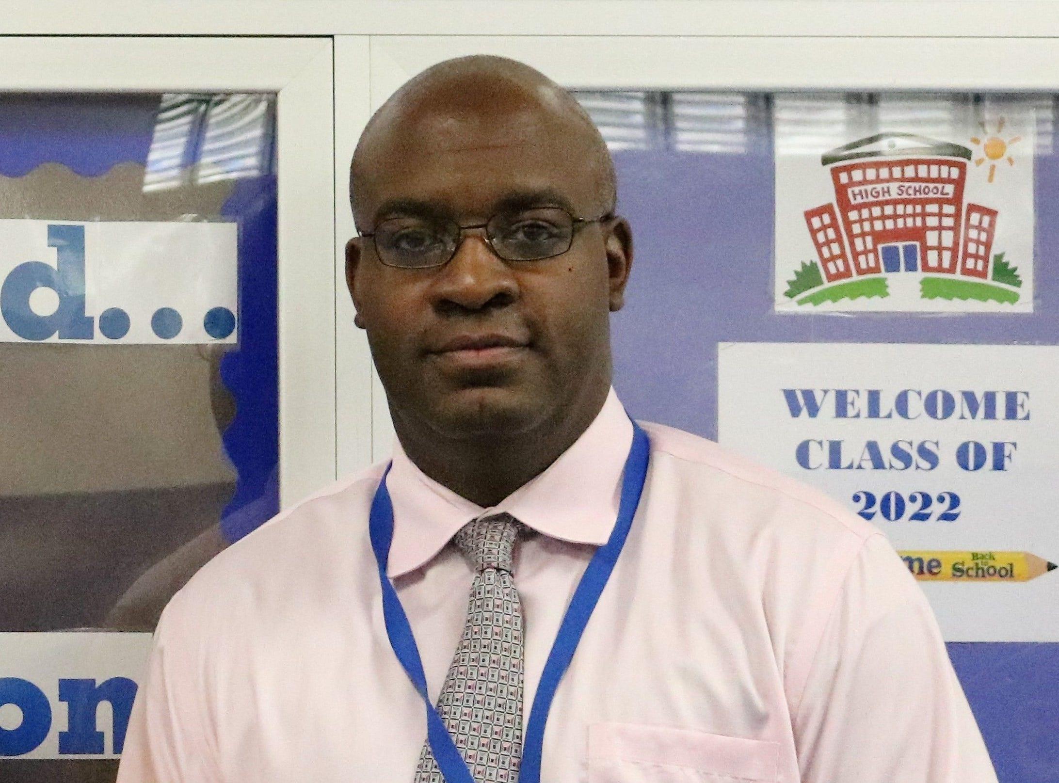 Westfield High School Principal Dr. Derrick Nelson.