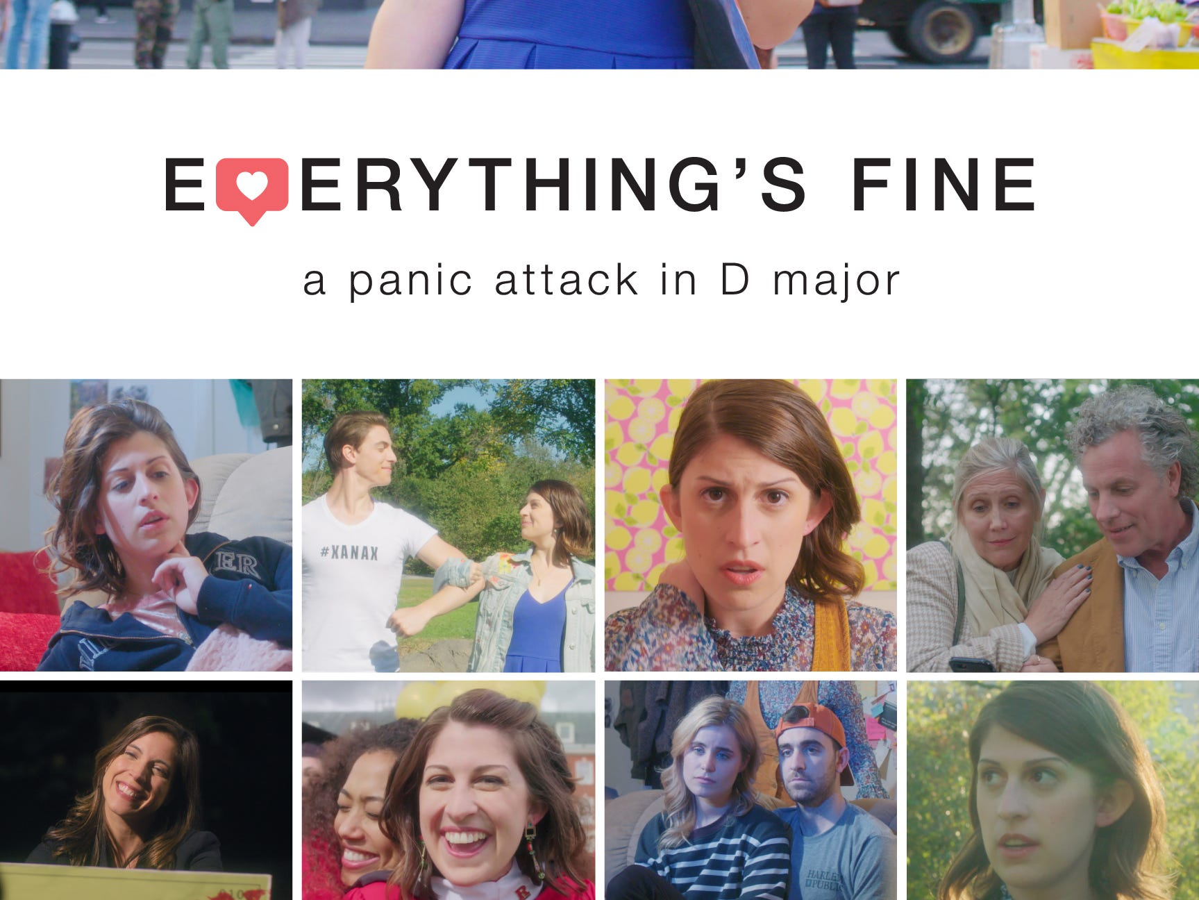 """East Brunswick's Zack Morrison, 27,  recently won a College Television Award — a College Emmy —for his Columbia University thesis film """"Everything's Fine: A Panic Attack in D Major."""""""