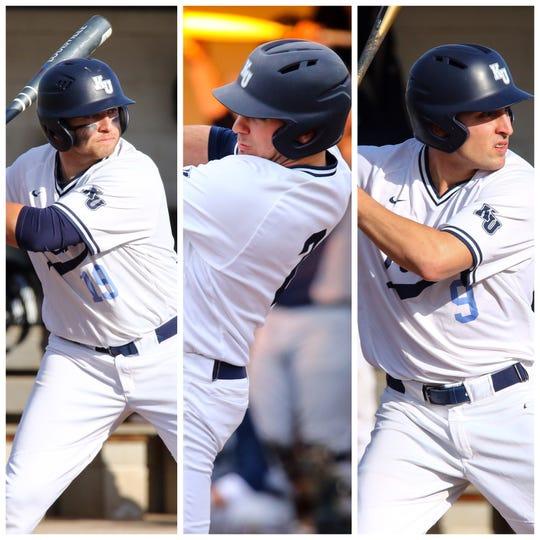 From L to R: Nick Polizzano, Frank LoGiudice, Zach Marzano
