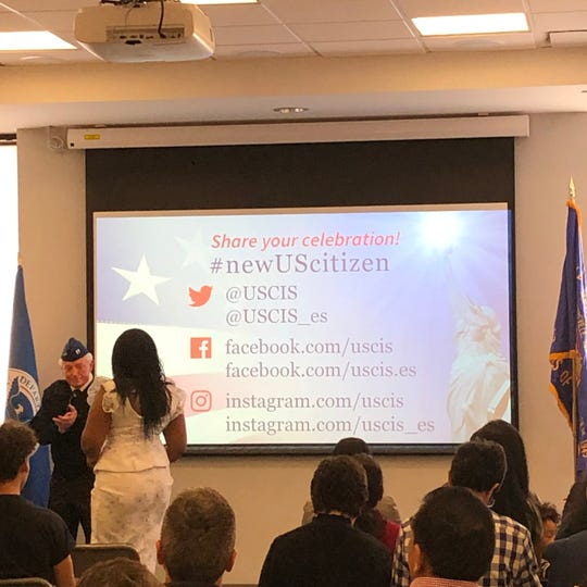 Sayreville Public Library hosted its fourth Naturalization Ceremony on Thursday, March 28.