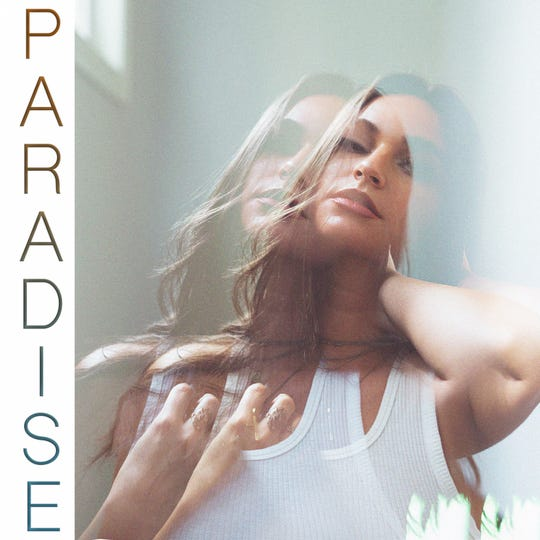 """This is the cover of Amanda Els' new single """"Paradise"""" which is about the honeymoon period of a new relationship."""