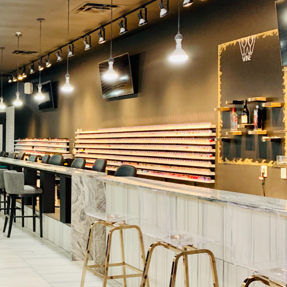 Get a manicure, jello shots and an IV cocktail at this new nail salon at Court Avenue