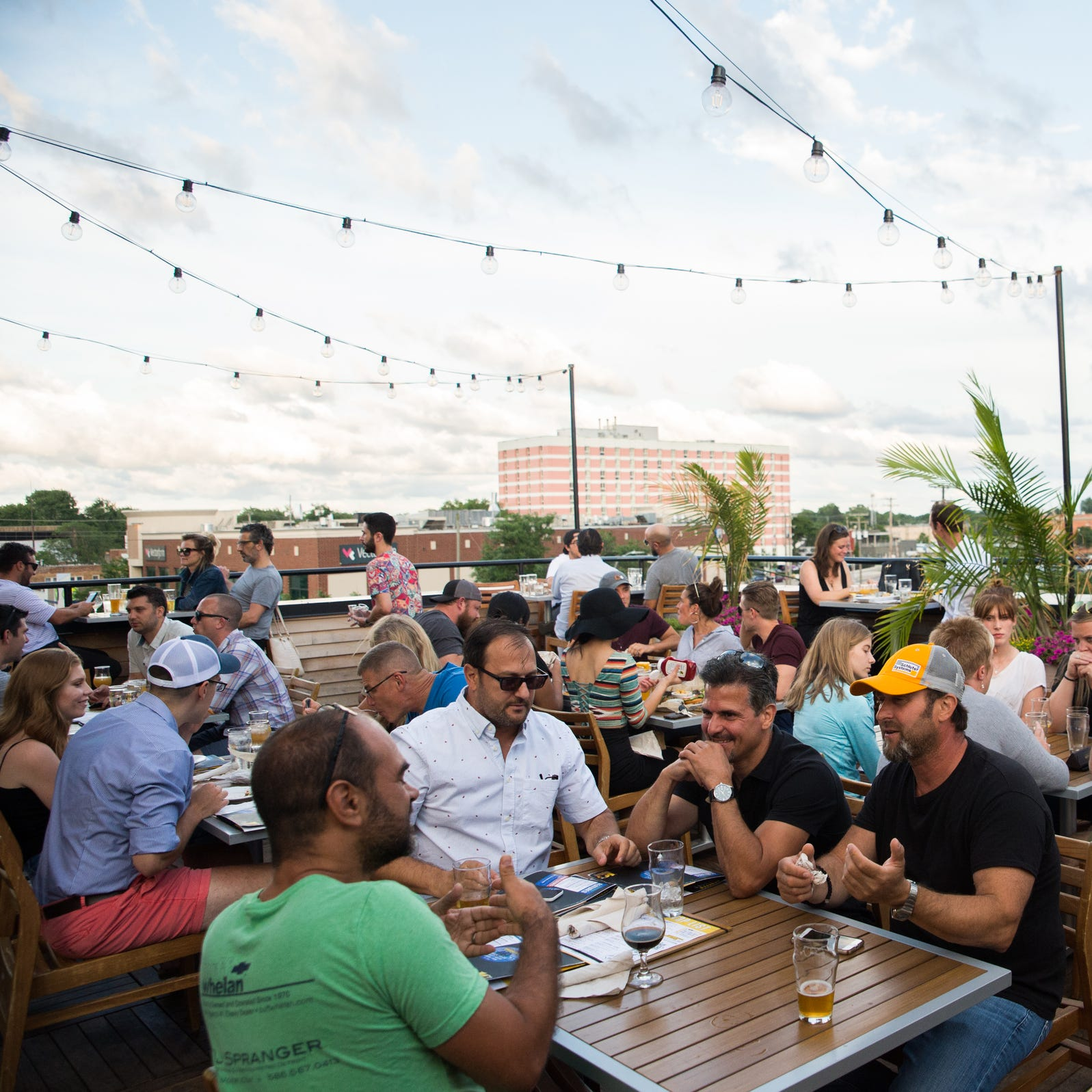 15 rooftop bars to try in metro Detroit