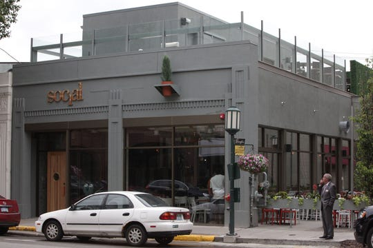 The Social Kitchen & Bar is located at 225 E. Maple in Birmingham on June 18, 2012.