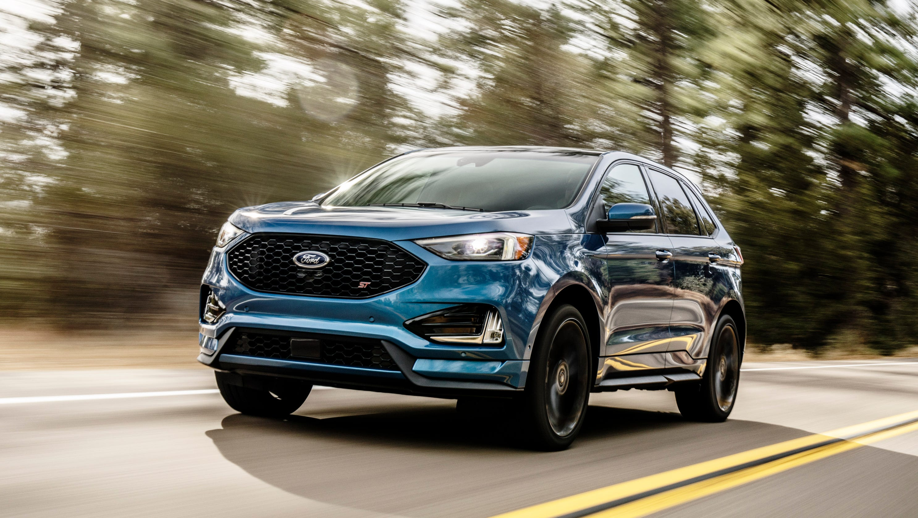 Ford Edge Towing Capacity >> 2019 Ford Edge St Review Suv Is Fast And Fun Until You Hit