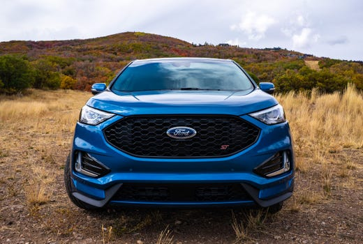 2019 Ford Edge ST review: SUV is fast and fun until you hit corners
