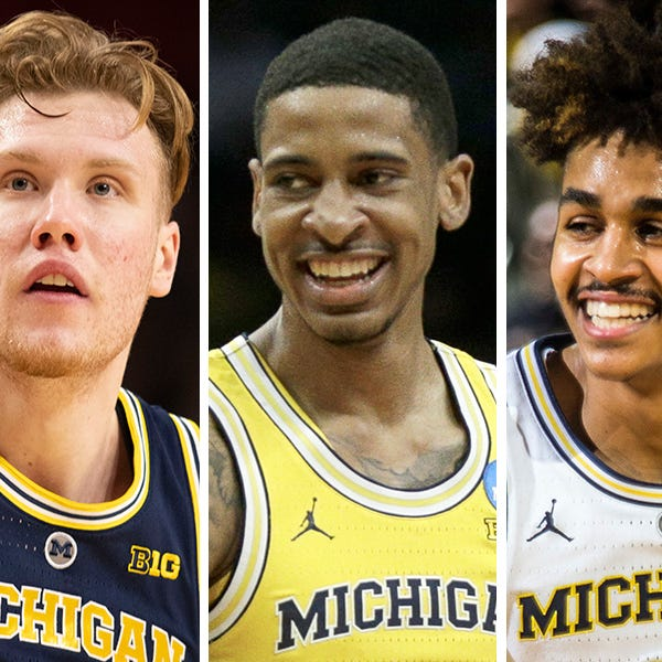 Michigan's Ignas Brazdeikis, Charles Matthews, Jordan Poole to enter NBA draft