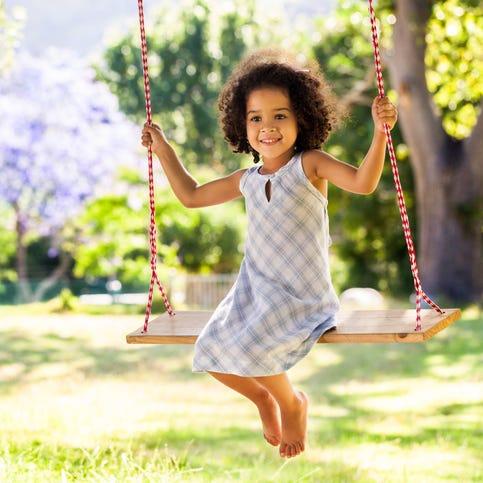Right words help child understand her own sense of self