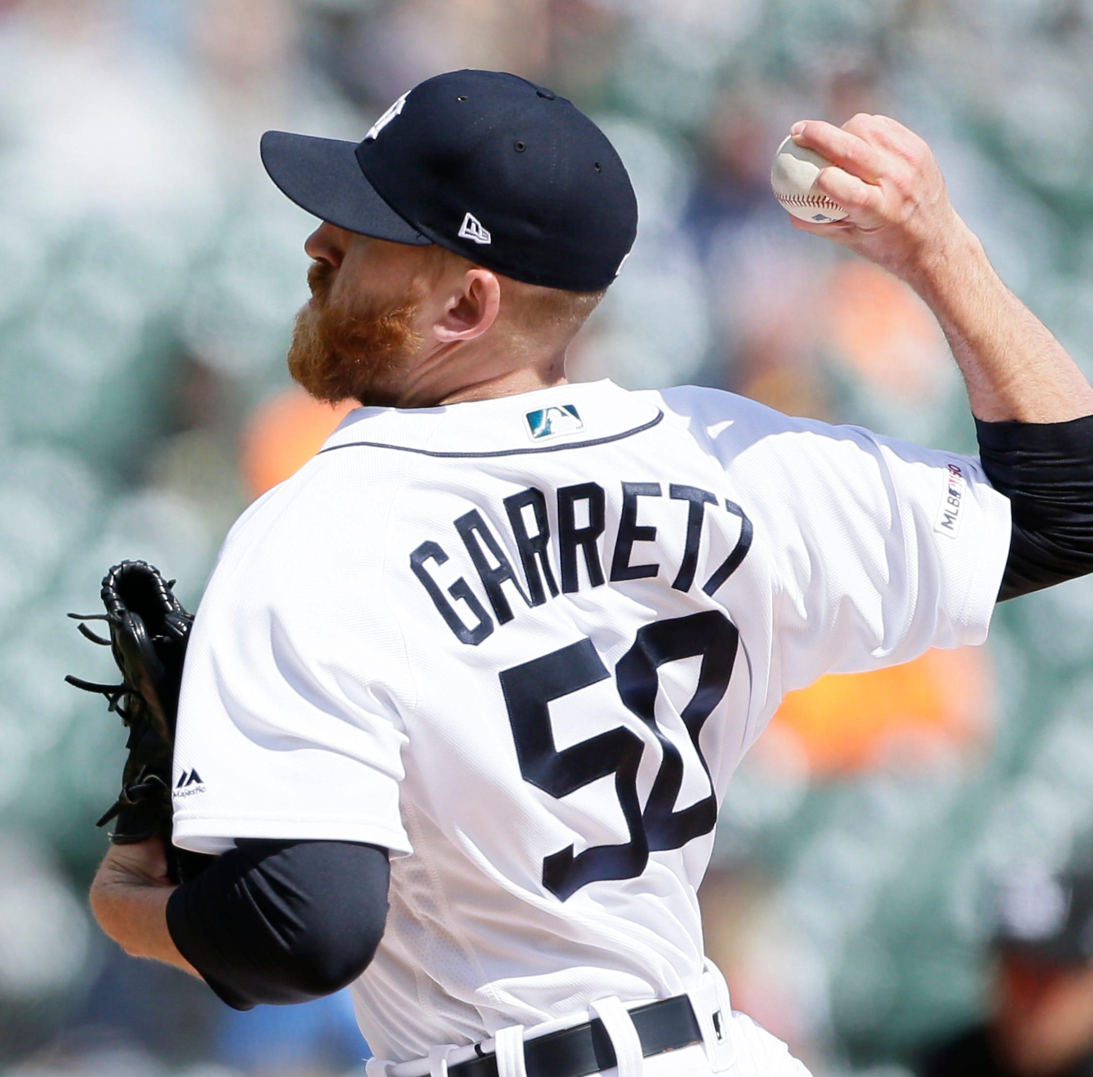 Detroit Tigers designate Rule 5 pick Reed Garrett for assignment