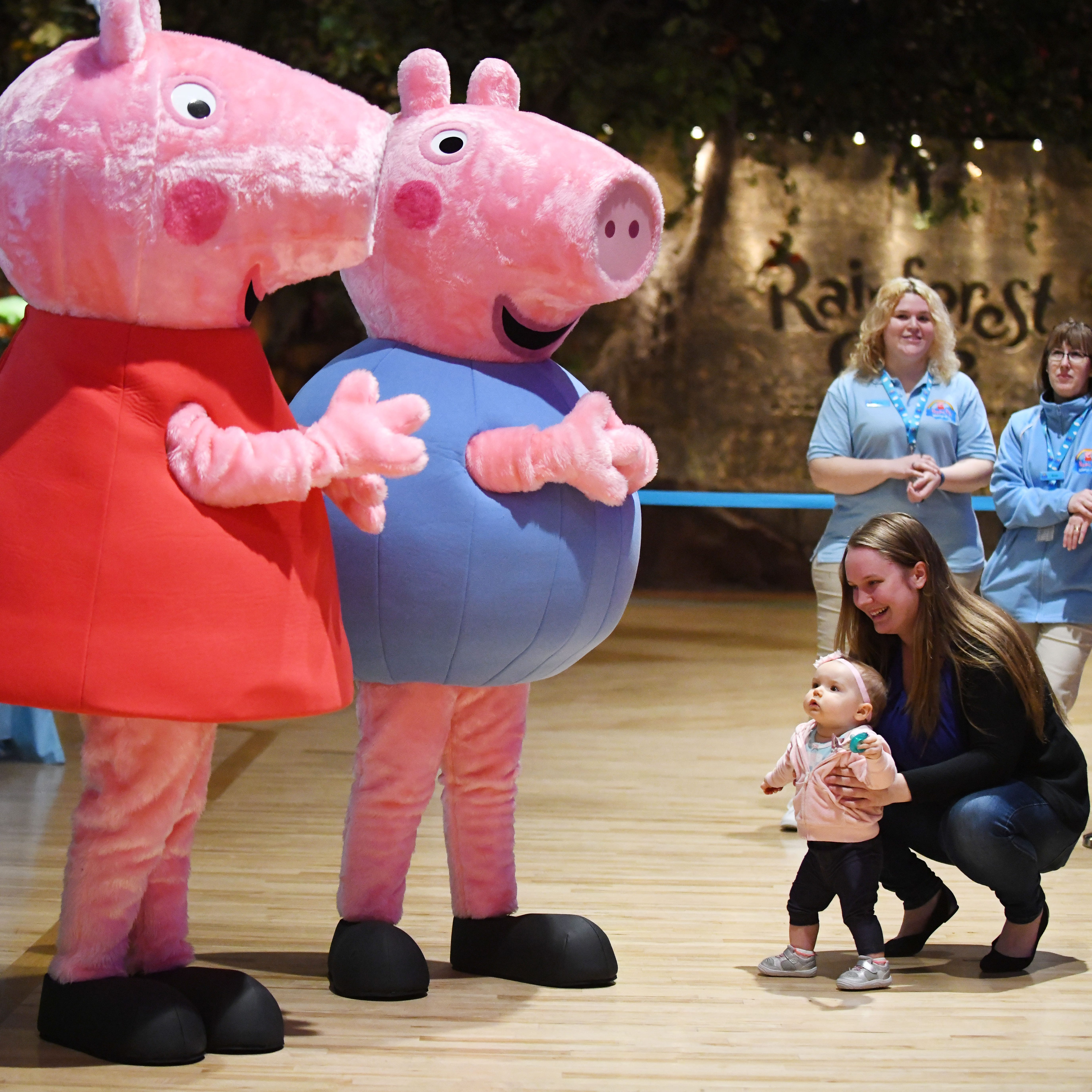 British TV sensation Peppa Pig World of Play opens at Great Lakes Crossing