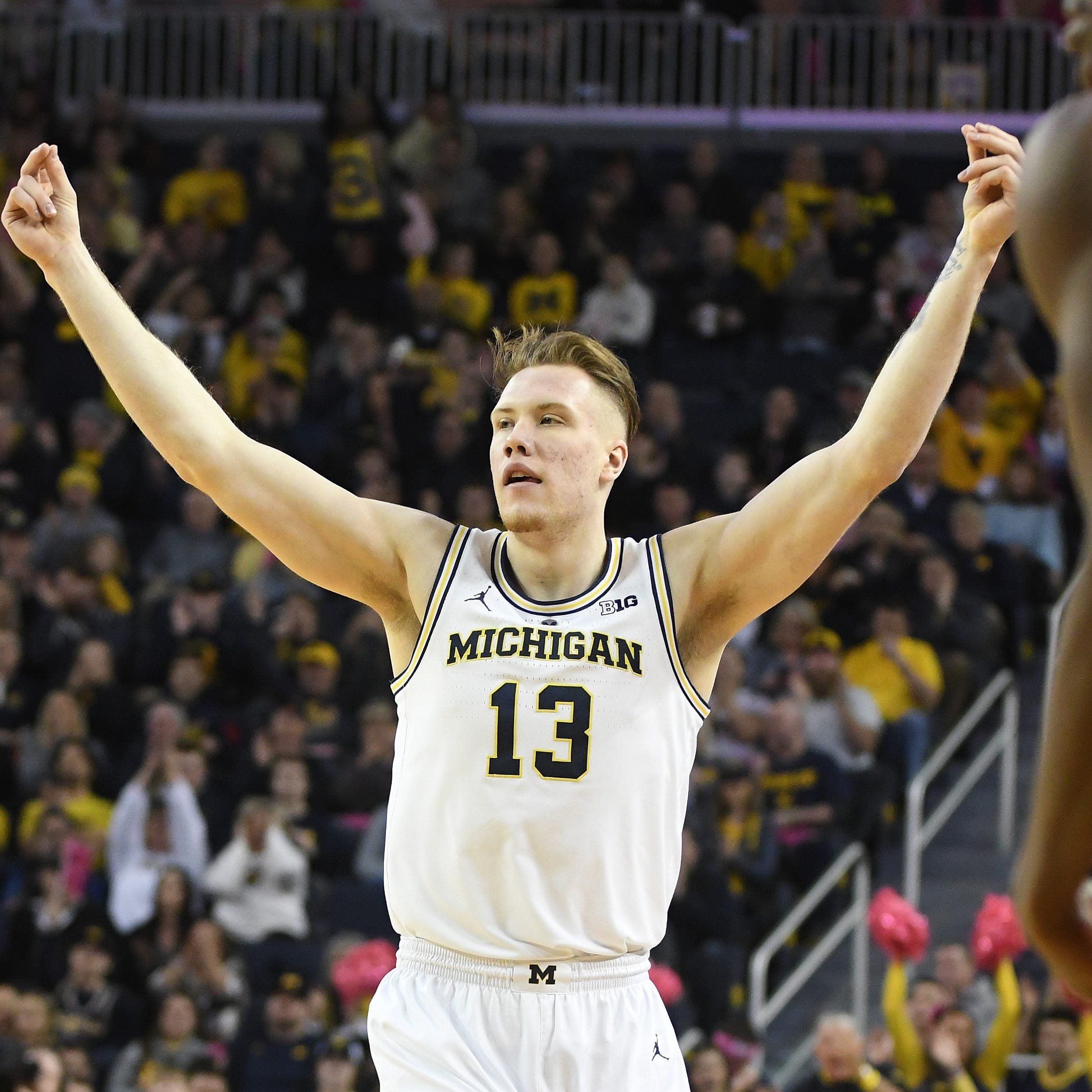 Michigan's Charles Matthews, Ignas Brazdeikis, Jordan Poole declare for NBA draft