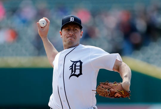After two great starts,  Jordan Zimmermann allowed three home runs in 4 1/3 innings in the 8-2 loss on Tuesday.
