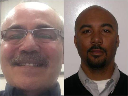Anthony DaGuanno, left, and Aradondo Haskins.