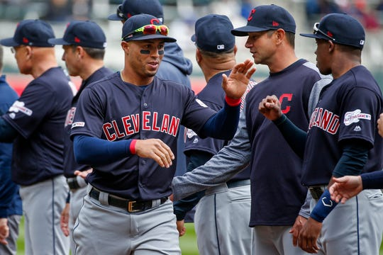 Because of bacterial infection at the end of last season, Indians outfielder Leonys Martin lost 40 pounds and most of his muscle mass.