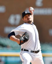 Detroit Tigers relief pitcher Blaine Hardy had been out since April 23.