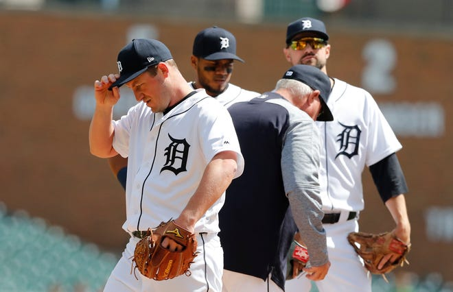 Pitcher Jordan Zimmermann (0-7, 7.51) is the poster boy for the Tigers' travails this season.