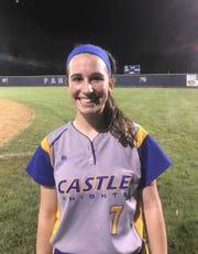Castle sophomore Ella Bassett