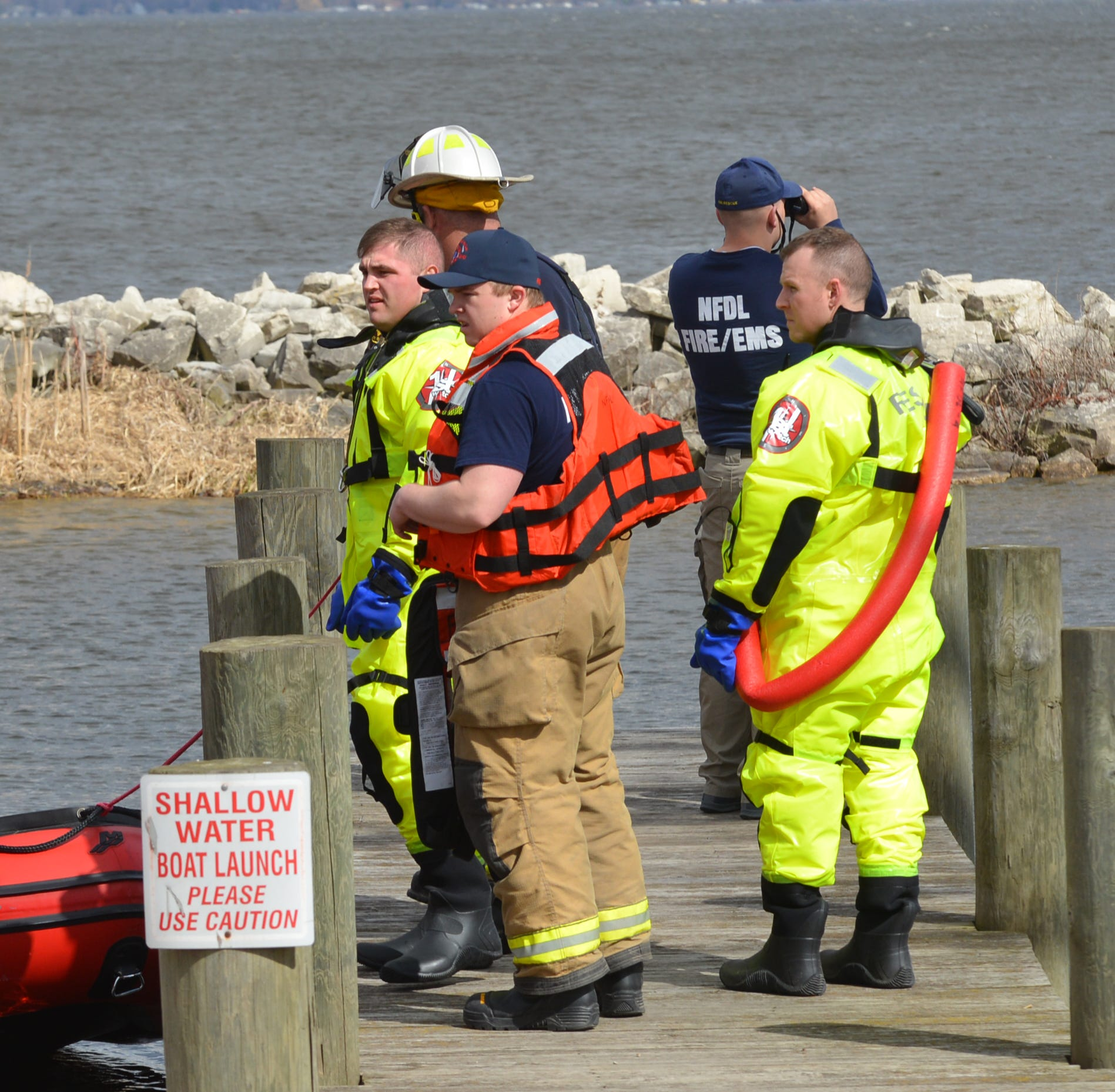 Fond du Lac County crews rescue kayaker from Lake Winnebago after boat overturns in high wind