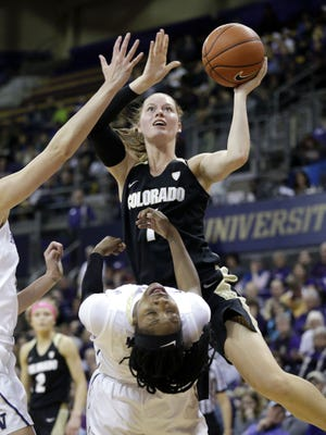 Makenzie Ellis spent 2015-17 at Colorado and 2017-19 at SMU. Her transfer to Colorado State was announced Monday.