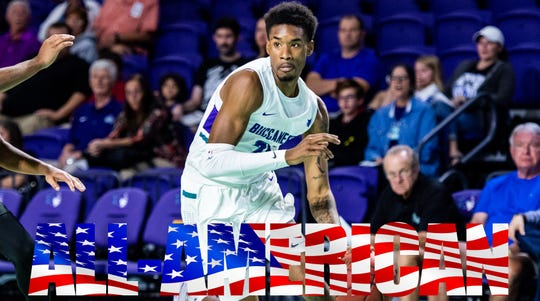 Charles Manning Jr., FSW men's basketball NJCAA All-American