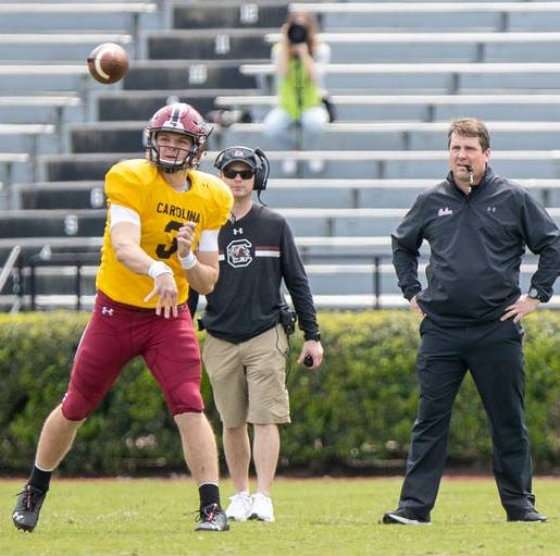 South Carolina's future at QB one of the best in the country, national voice says