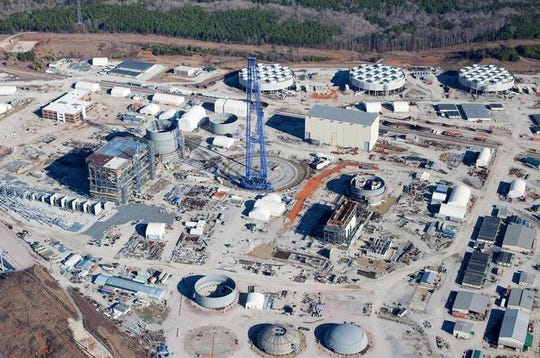 V.C. Summer nuclear site in Fairfield County, S.C. SCANA tried to add two new reactors, but quit the project amid rising costs