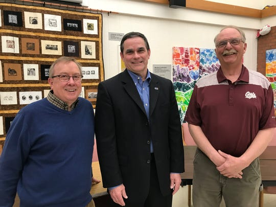 Mark Finnicum and Gordon Johnson are to be sworn into the GFPS board of trustees, next month. (From left to right: Gordon Johnson, Mark Finnicum and Jeff Gray)