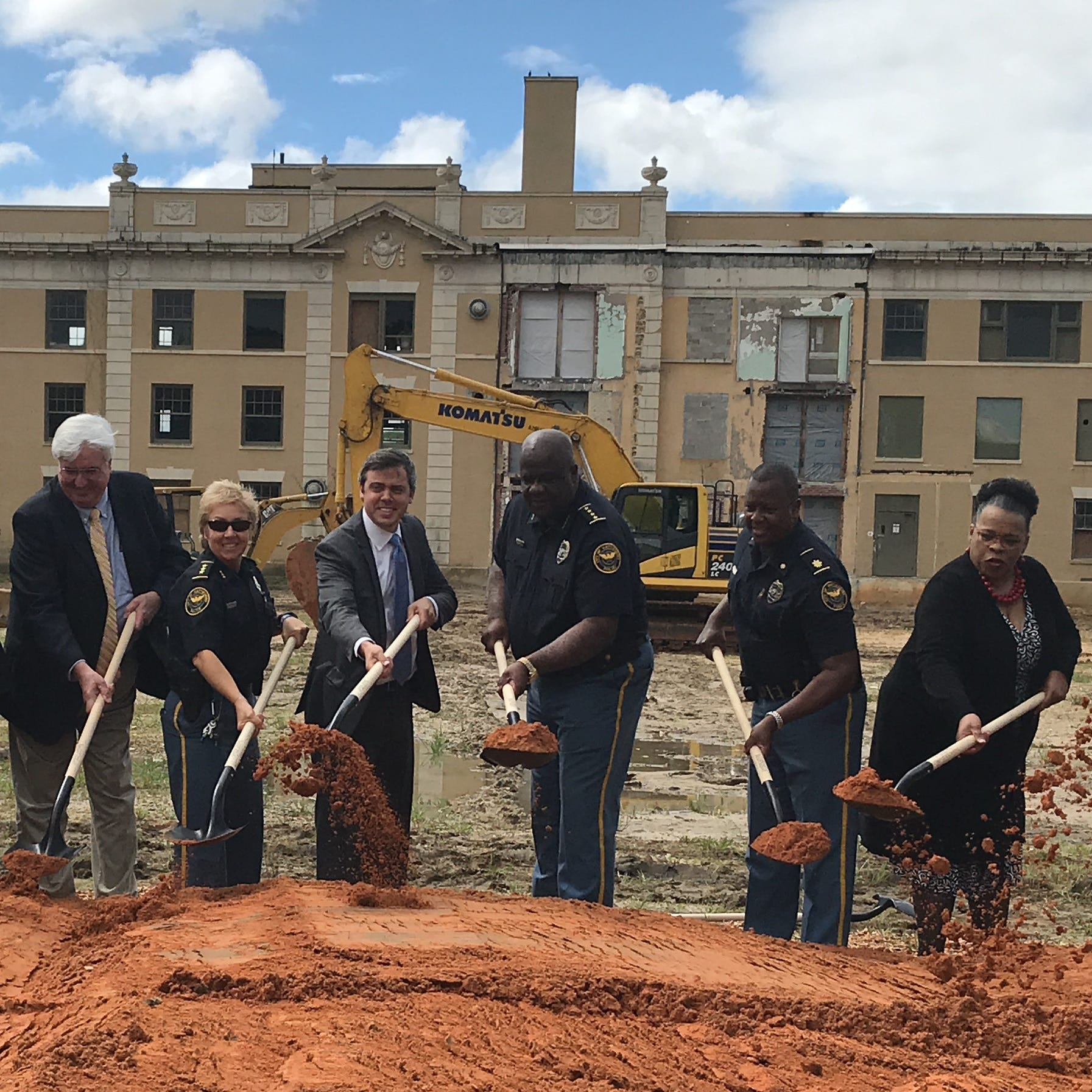 It's official: Hattiesburg's new Public Safety Complex is under construction