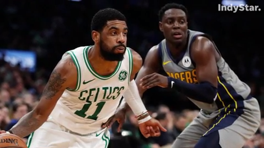 Darren Collison starts for the Indiana Pacers, while Kyrie Irving leads the Boston Celtics.