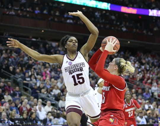 Mississippi State center Teaira McCowan will hear her name called early in Wednesday's WNBA draft.
