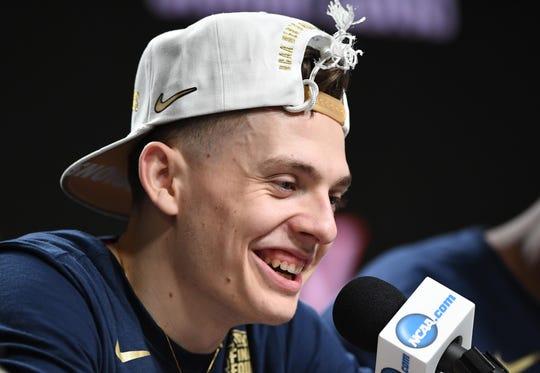 """I don't care how I get to the league,"" Kyle Guy says. ""Drafted, undrafted, I know I belong here.""  He worked out for the Pacers on Thursday."