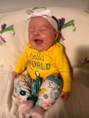 Sadie Kaye Stanley is a happy and healthy 4-month-old, her mother Courtney Stanley says. Courtney was denied TennCare coverage three times during a difficult pregnancy.