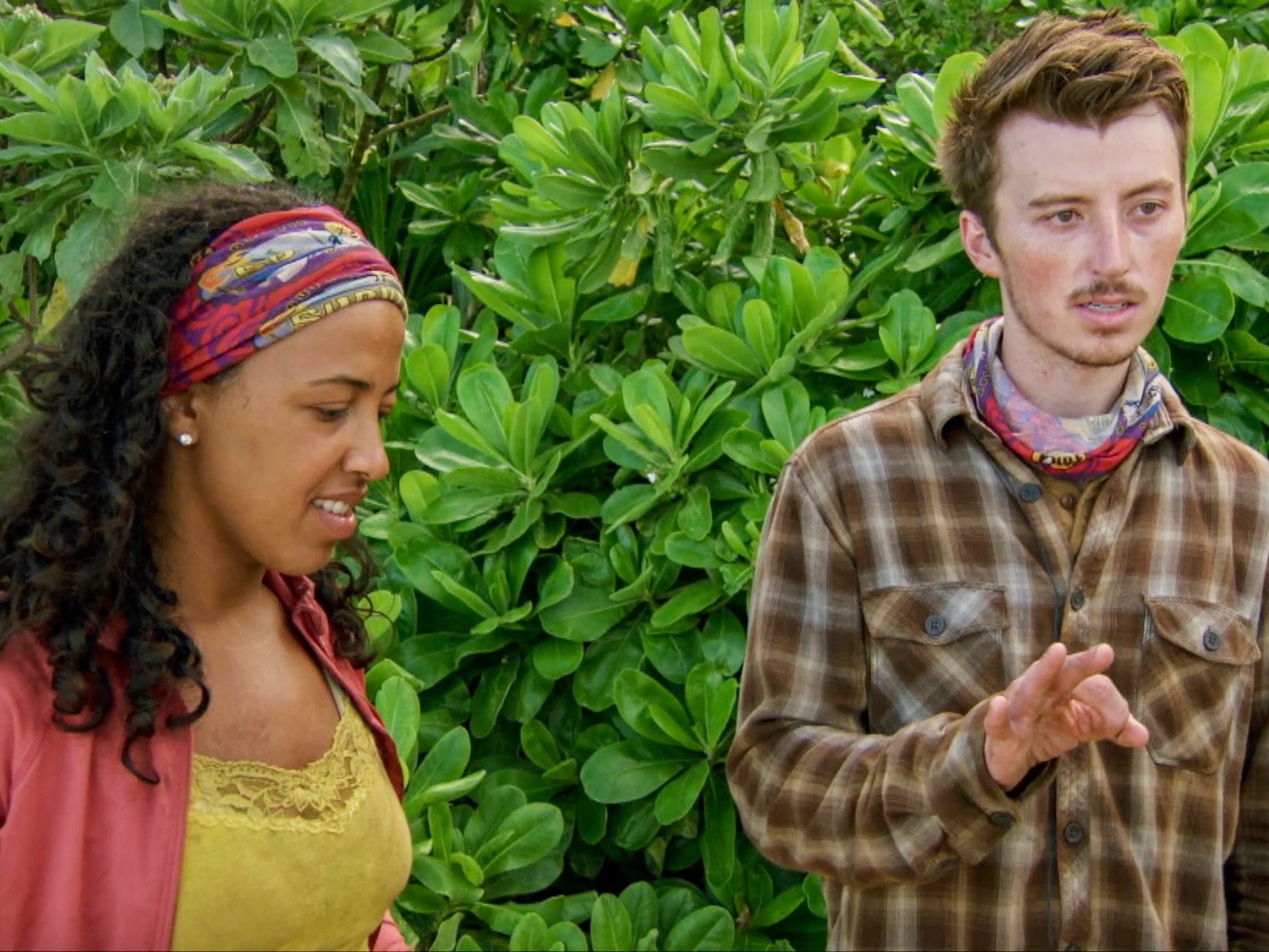 "Julia Carter and Gavin Whitson on ""Survivor: Edge of Extinction."""