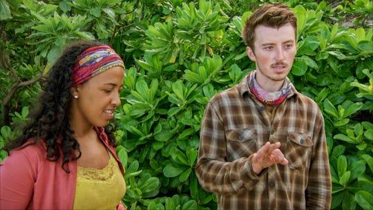 "Julia Carter and Gavin Whitson on ""Survivor: Edge of Extinction."""