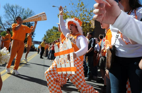 Volunteer pride is always on display in Knoxville, which Sports Illustrated named one of the 10 best college towns in America.