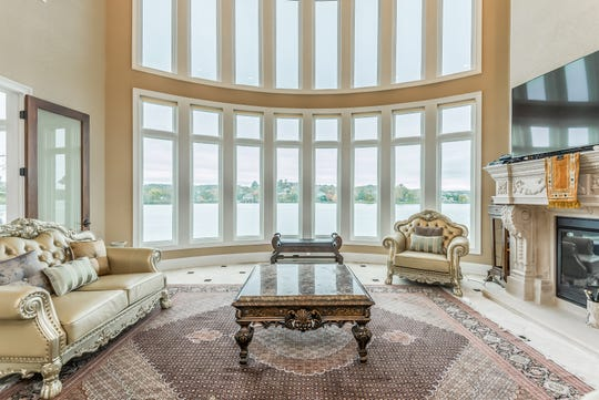 The view out on Fort Loudoun Lake from 1439 Charlottesville Blvd. in Farragut. The mansion is listed for $1,995,000.