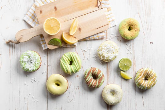 Duck Donuts is offering key lime icing and other spring flavors through June 1.