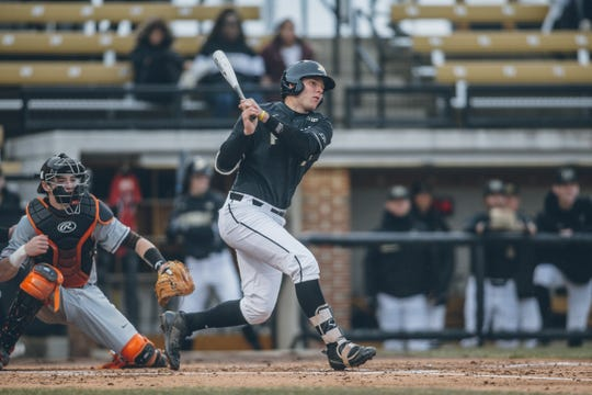 Junior catcher Zac Fascia enters the week leading Purdue baseball in home runs (two), RBIs (12) and walks (13).