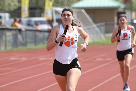 Brighton's Maddie Brown excels in the 800 and 1,600.