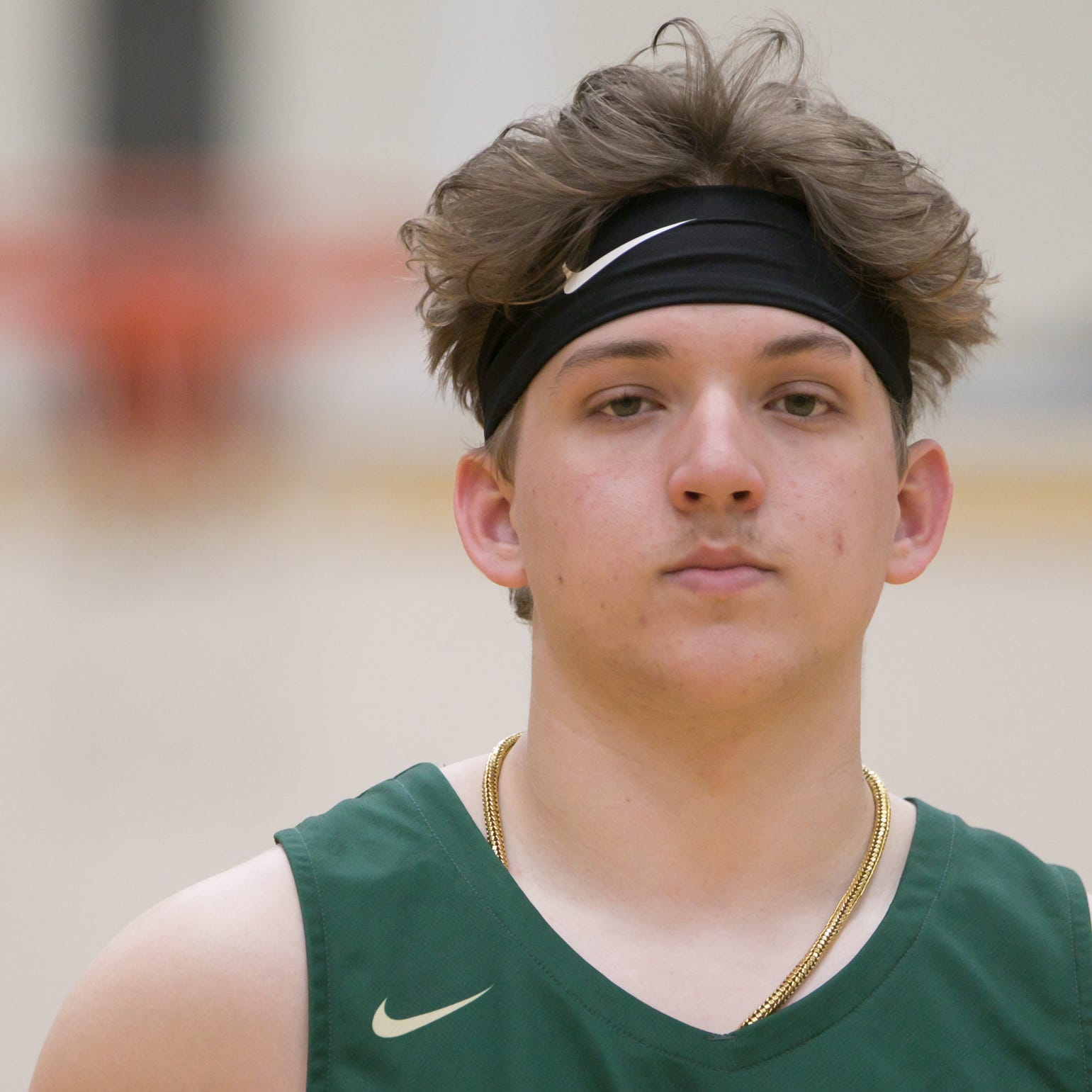 Boys basketball Player of the Year Josh Palo was calm under pressure for Howell