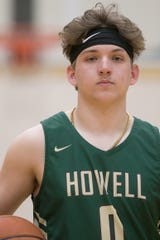 Josh Palo of Howell is a repeat selection as Livingston County boys basketball Player of the Year.