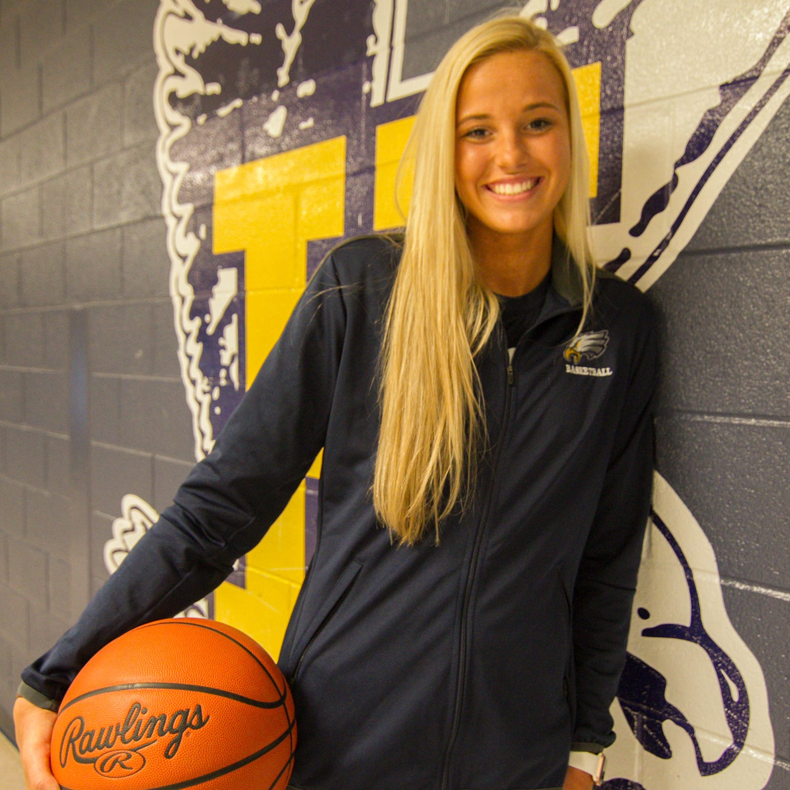Player of the Year Whitney Sollom of Hartland has college basketball options