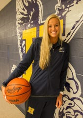 Hartland junior Whitney Sollom is the Livingston County girls basketball Player of the Year.