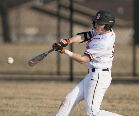 Brighton's Brendan Harrity hit .427 and made first-team all-county as a junior.