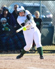 Avery Wolverton of Howell hit two home runs at Brighton.