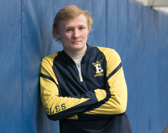 Kyle Kantola is Livingston County's Wrestler of the Year after becoming only the third unbeaten state champion at Hartland.